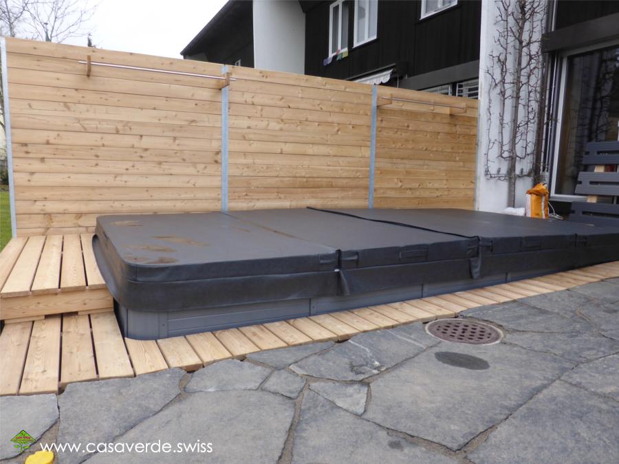 casa verde innen aussenbegr nung ag terrassenb den. Black Bedroom Furniture Sets. Home Design Ideas