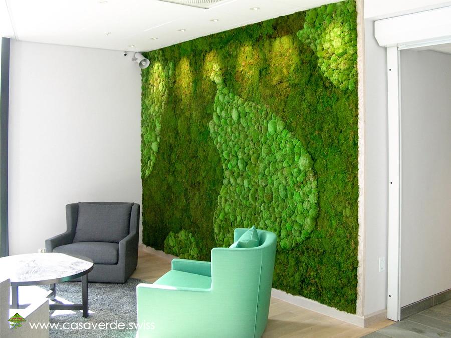 lebendiges moos an der wand wohn design. Black Bedroom Furniture Sets. Home Design Ideas